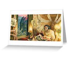 Francisco Goya Greeting Card
