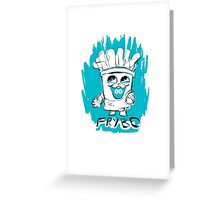 Frybo Iphone 5C snap case Greeting Card