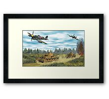 Hawker Typhoon Tank Busters Framed Print
