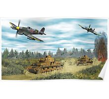 Hawker Typhoon Tank Busters Poster