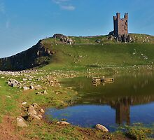 Dunstanburgh Castle, Northumberland by Danielle Chappell-Hall