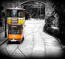 British Tram by Duncan Rowe