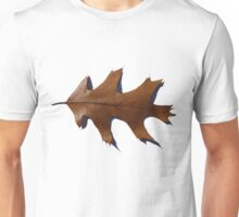 Copper Oak Leaf Unisex T-Shirt
