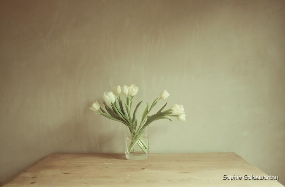 Fan of flowers by Sophie Goldsworthy