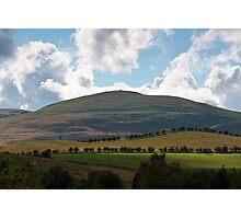 Humbleton Hill Northumberland UK Photographic Print
