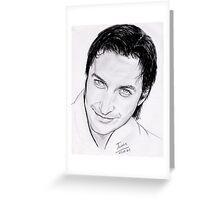 """Richard Armitage, """"fascinating eyes"""" Greeting Card"""
