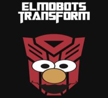 Elmobots Transform by Harmerrrrrrr