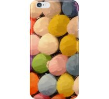 Painted Carnival Dart Game Balloons iPhone Case/Skin