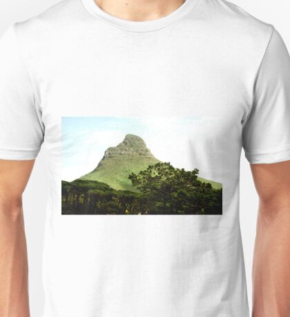 Lion's Head from Table Mountain, Cape Town Unisex T-Shirt
