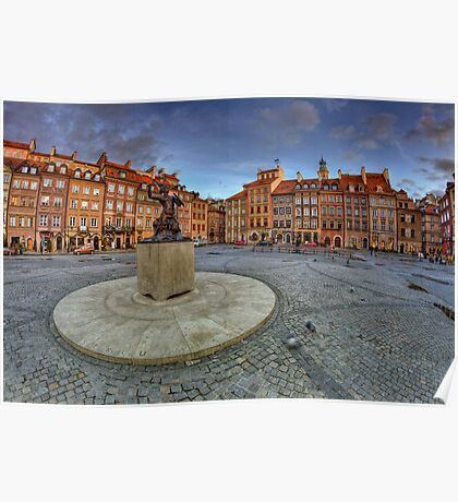Warsaw - Marmaid - 353x365 Poster