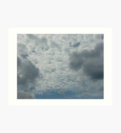 Cumulus Art Print