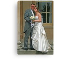 Mr & Mrs Fisher Canvas Print