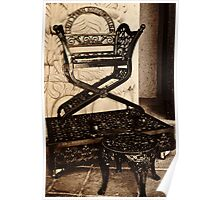 Cast Iron Shoe Shine Throne Poster