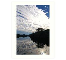 Reflection Perfection Art Print