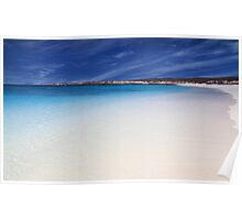 Turquoise bay, Exmouth , Western Australia Poster