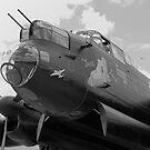 Just Jane - Avro Lancaster  by Mark Baldwyn