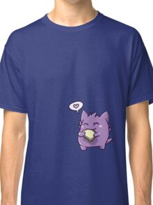 Gengar with a sandwich Classic T-Shirt