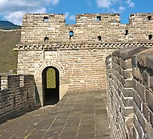 The Great Wall Series - at Mutianyu #5 by © Hany G. Jadaa © Prince John Photography