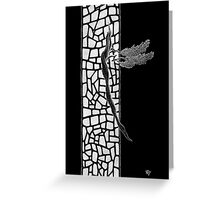 Windows Of Heaven Greeting Card