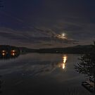 Night at Long Pond by Michael Schaefer