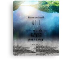 Matthew 24:35 Canvas Print