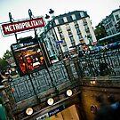Paris Metro by David Preston