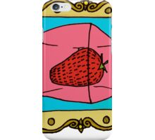 Food For Thought - Strawberry Jell-o iPhone Case/Skin