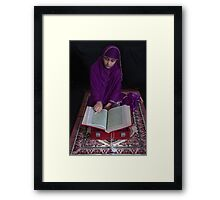 Religious Faith-4/2011 Framed Print