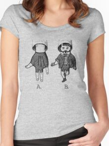 Advanced Hand Puppetry Technique Women's Fitted Scoop T-Shirt