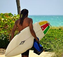 Surfer Dude by Rene  Triay