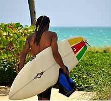 Surfer Dude Photographic Print
