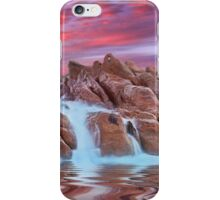 Spa pool, Wyadup rocks, Yallingup, Western Australia iPhone Case/Skin