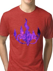 Chandelure used shadow ball Tri-blend T-Shirt