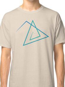 Triangle Line Pattern Classic T-Shirt