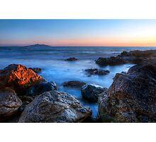 Seaside Rocks Photographic Print