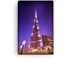 The Burj Canvas Print