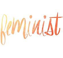 Feminist Typography 1 Photographic Print