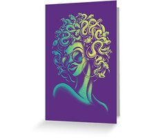 Funky Medusa Greeting Card