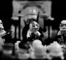 Rebel and the Stormtroopers by timkirman