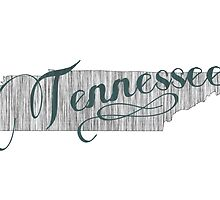 Tennessee State Typography by surgedesigns