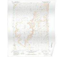 USGS Topo Map Oregon Oregon End Table 281005 1981 24000 Poster