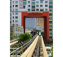Drive Thru Train Photographic Print
