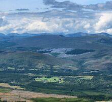 Fort William to Beinn Bhan, Scotland View LARGE by Glen Allen