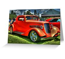 Dicey Red Classic Greeting Card
