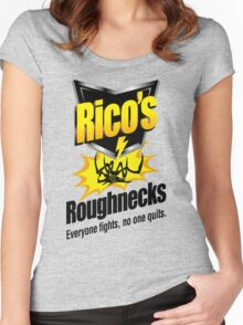 Rico's Roughnecks Women's Fitted Scoop T-Shirt