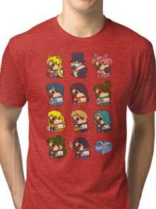Pretty Soldier Sailor Puglie Tri-blend T-Shirt