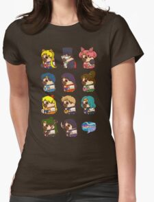 Pretty Soldier Sailor Puglie Womens Fitted T-Shirt