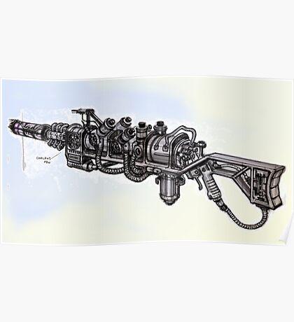Plasma Rifle Conceptual Poster Poster