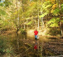Johnny at Granny Creek by SusieG