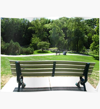 Bench marks Poster